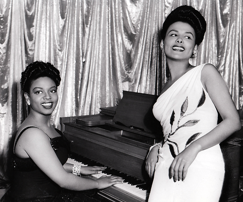 hazel scott and lena horne
